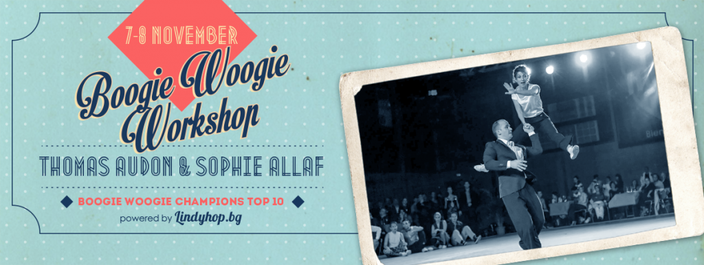 Boogie Woogie Workshop with Thomas and Sophie